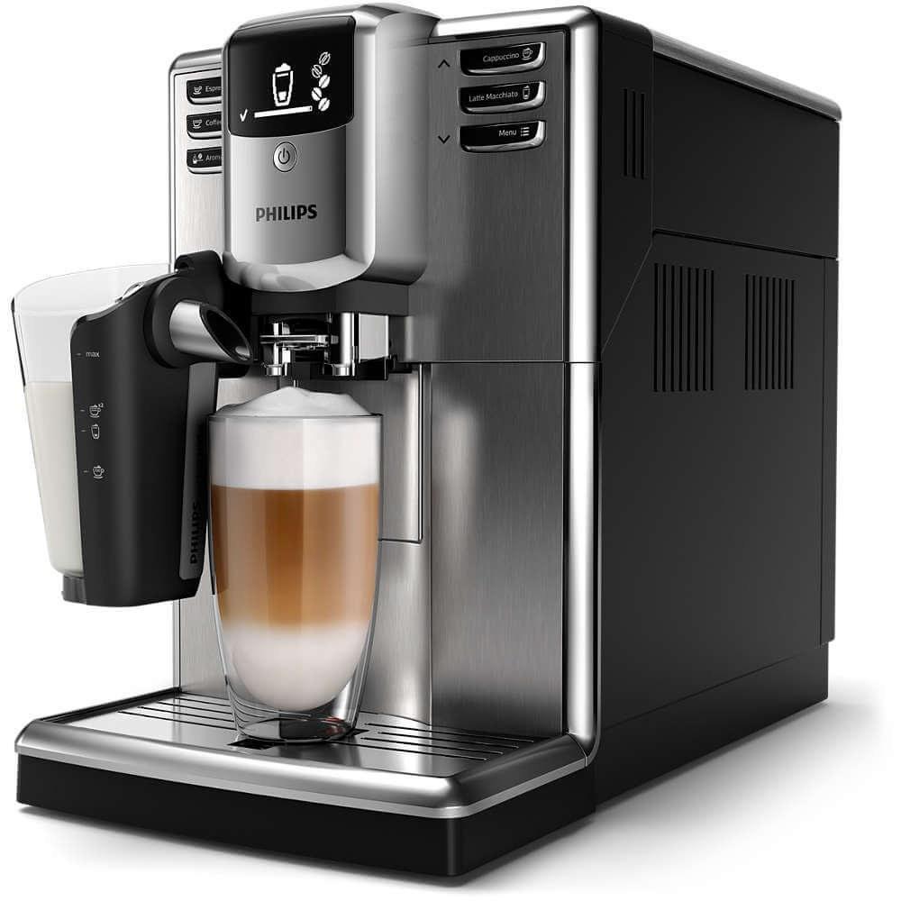 تصویر قهوه ساز اسپرسو فیلیپس هلند philips Series 5000 Kaffeevollautomat mit LatteGo Milchsystem EP5345/10