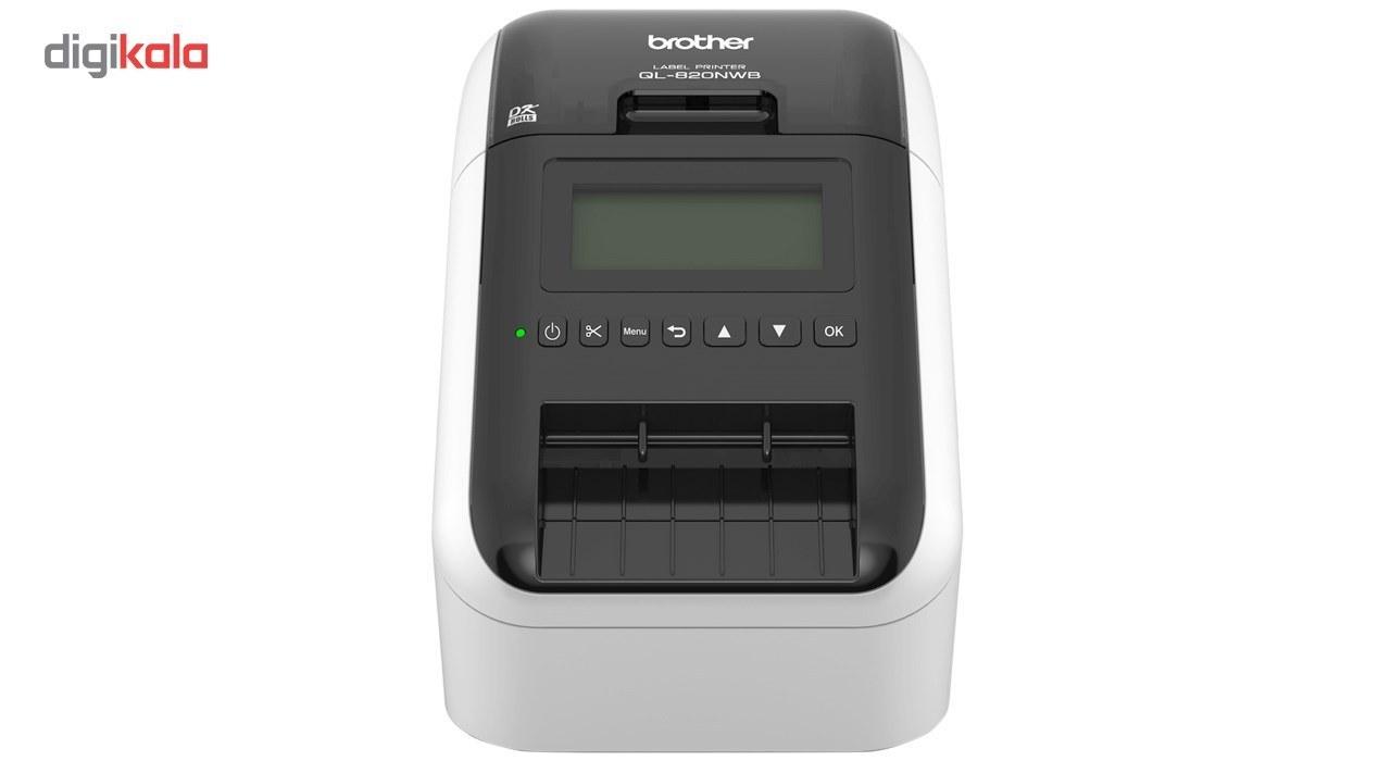 تصویر پرینتر لیبل زن مدل QL-820NWB برادر ا Brother QL-820NWB label printer Brother QL-820NWB label printer