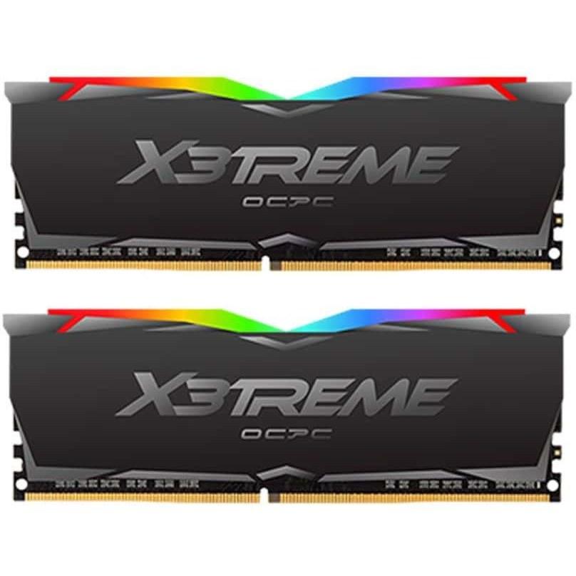 تصویر رم دسکتاپ او سی پی سی مدل (16GB*2) 32GB 3466 X3 RGB OCPC Dual CL18 ا 32GB 3466 X3 RGB OCPC Dual 32GB 3466 X3 RGB OCPC Dual