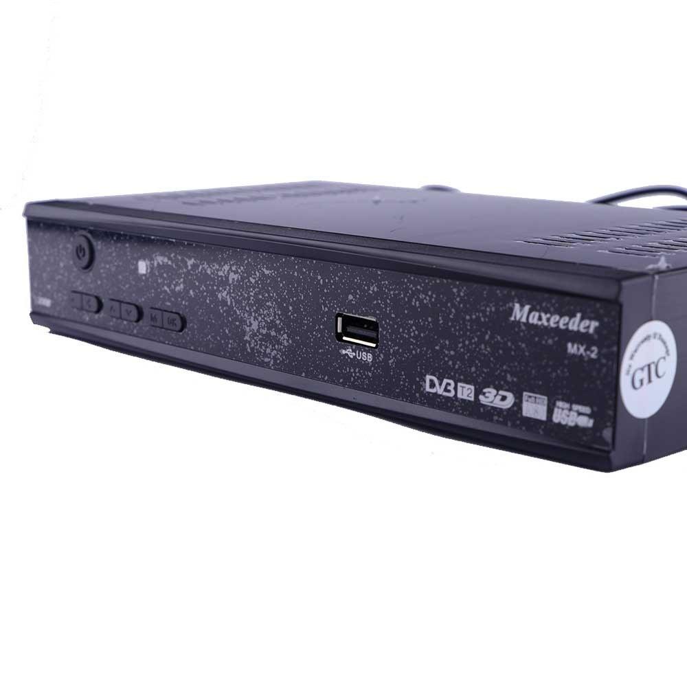 تصویر گیرنده دیجیتال maxeeder MX-2 2056 maxeeder MX-2 2056 SET-TOP BOX