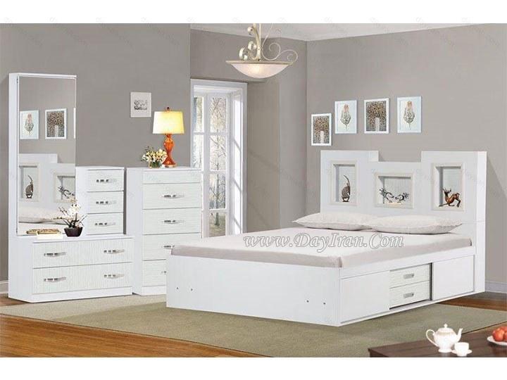 تصویر تخت خواب دو نفره آنیتا