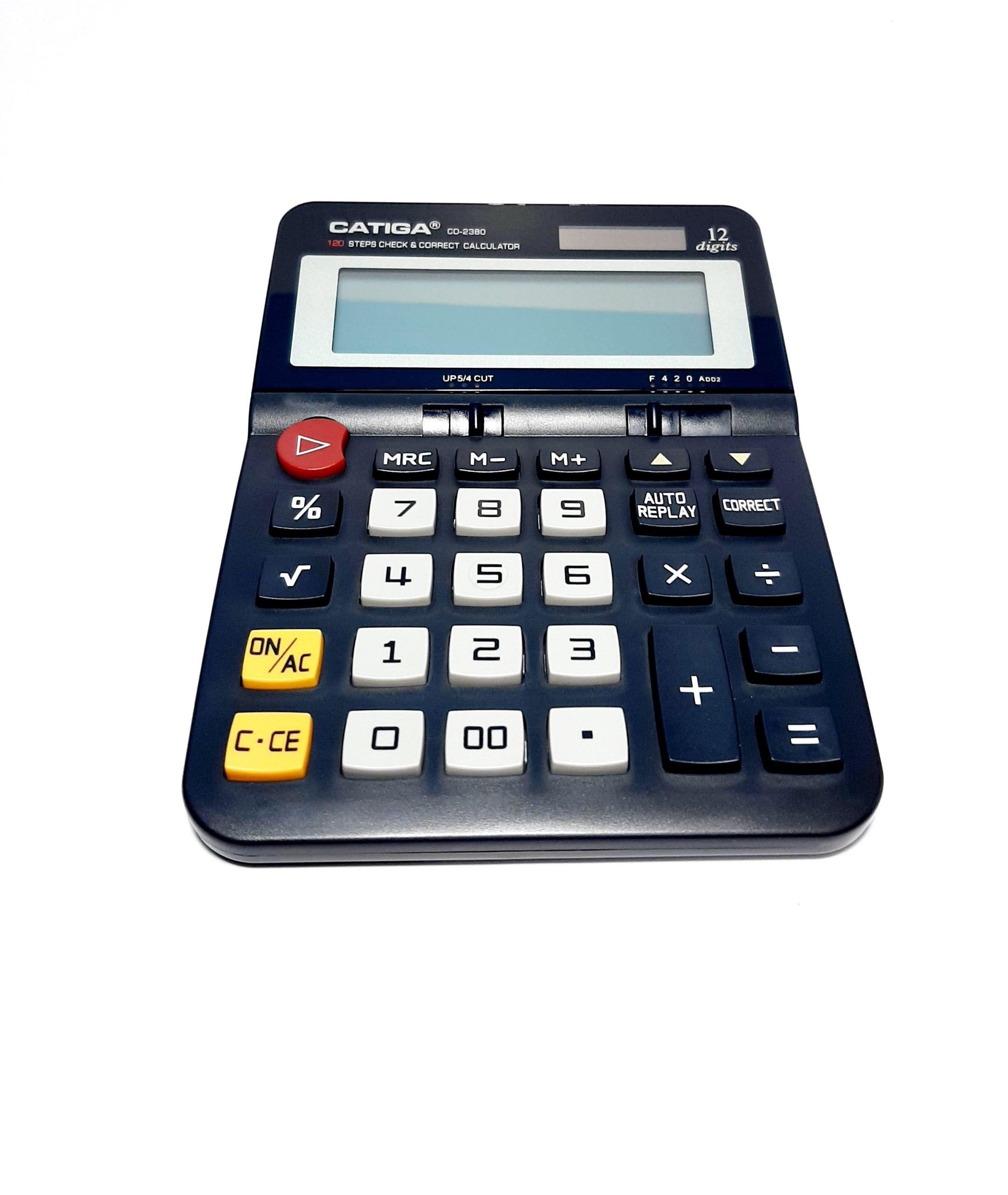 تصویر ماشین حساب کاتیگا مدل 2380-CD