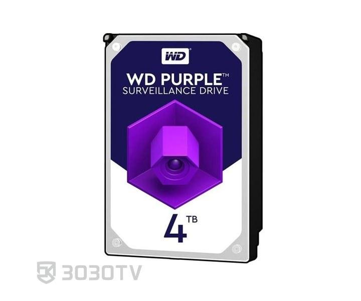 تصویر Western Digital WD40PURZ Purple 4TB 64MB Cache Internal Hard Drive هارددیسک اینترنال وسترن دیجیتال سری Purple ظرفیت 4 ترابایت