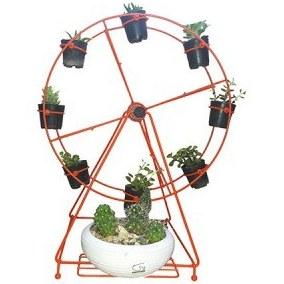 استند گلدان طرح چرخ فلکی |