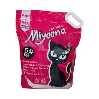 خاک گربه میونا مدل Odorless1 حجم 5 کیلوگرم