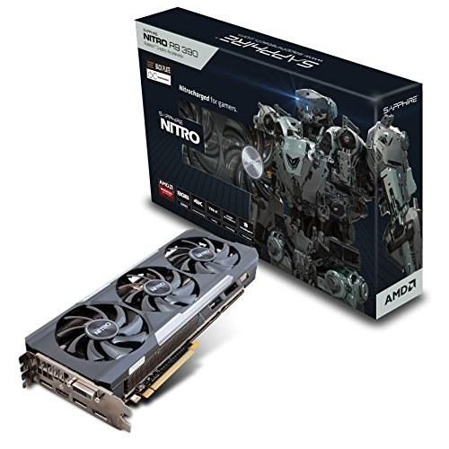 کارت گرافیک رادئون آر ایکس سافایر Sapphire 11244-01-20G Radeon Nitro R9 390 8GB GDDR5 DVI-D