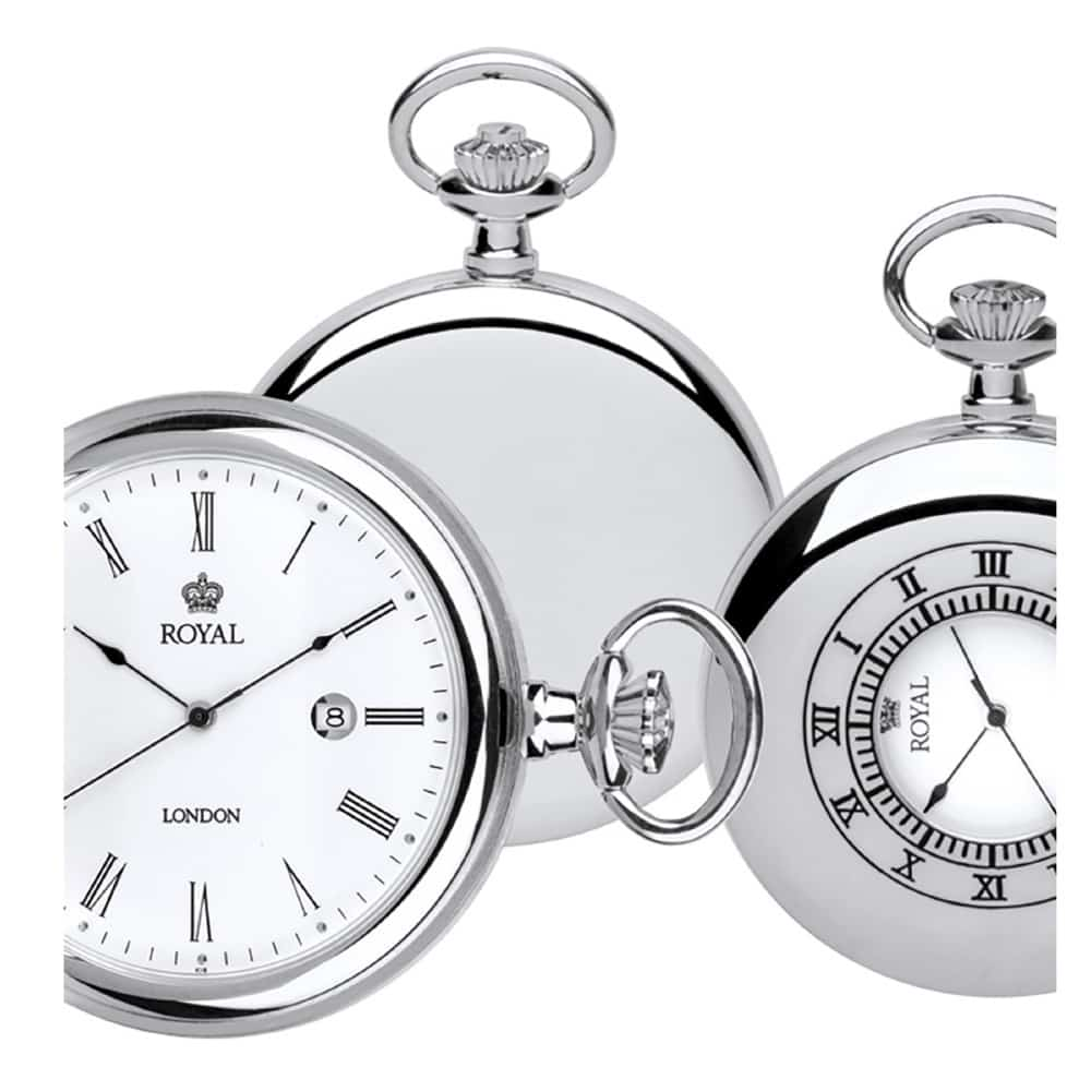 تصویر ساعت جیبی مردانه رویال لندن RL-90008-01