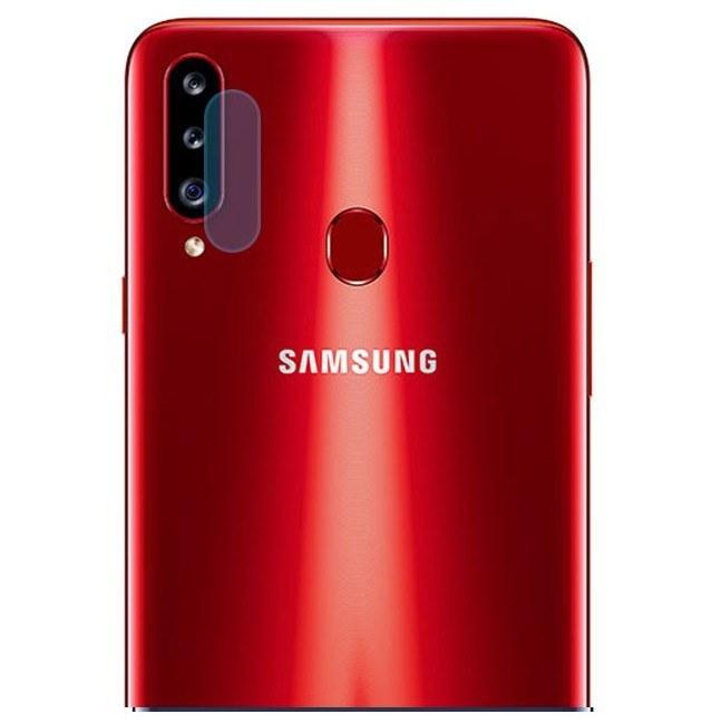 گلس لنز سامسونگ Samsung Galaxy A20 S محافظ کامل لنز دوربین گوشی