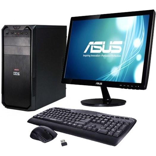 تصویر کامپیوتر دسکتاپ آماده مدل COREI5-6500