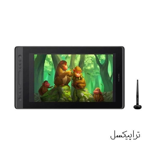 تصویر قلم نوری Huion Kamvas Pro 16 Premium تبلت گرافیکی هویون کامواس پرو 16 پریمیوم