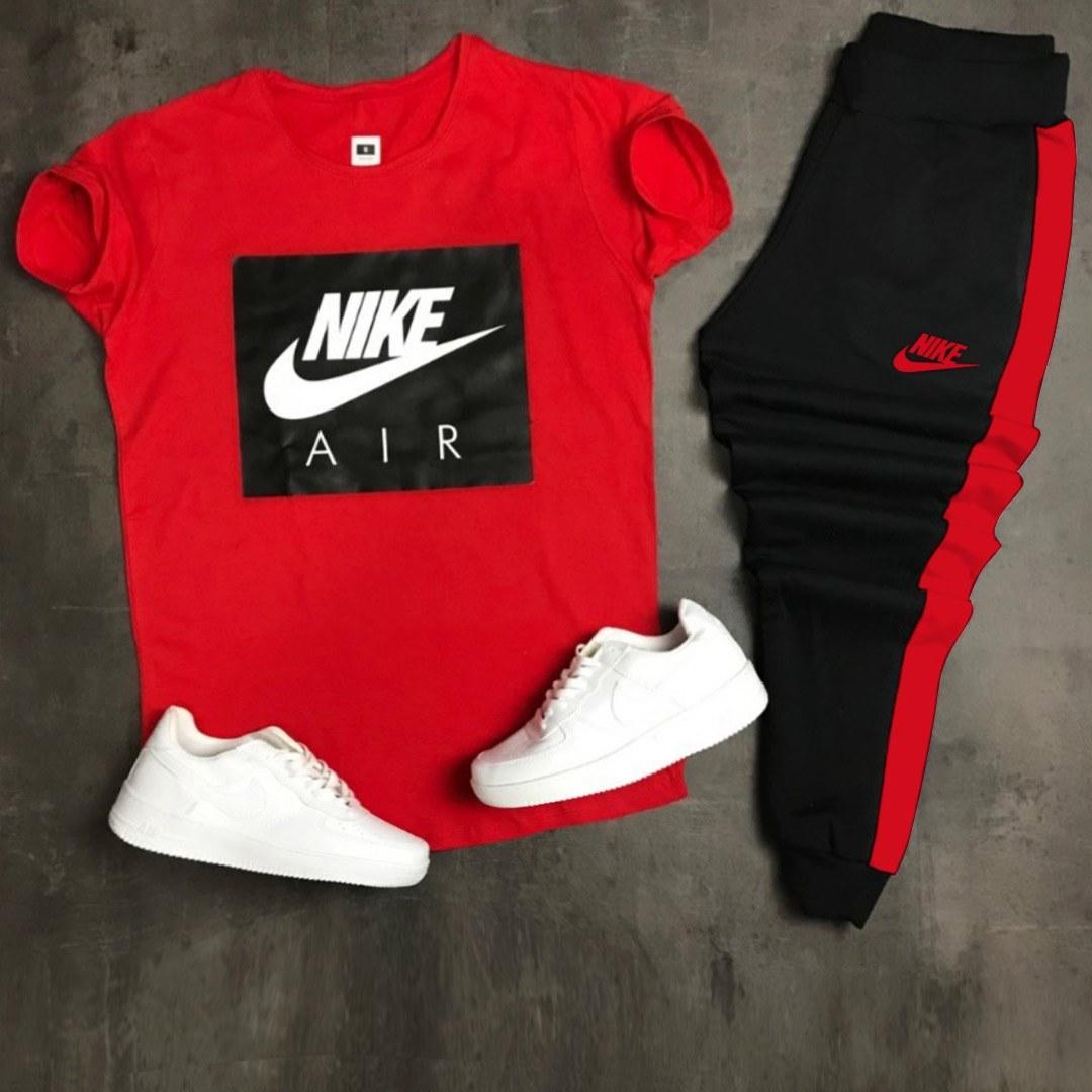 عکس ست تیشرت وشلوار مردانه Nike مدل zilan  ست-تیشرت-وشلوار-مردانه-nike-مدل-zilan