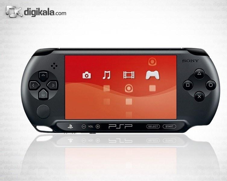 تصویر سوني پلي استيشن پورتابل (پي اس پي) - استريت اي 1004 Sony PlayStation Portable (PSP) - Street E1004