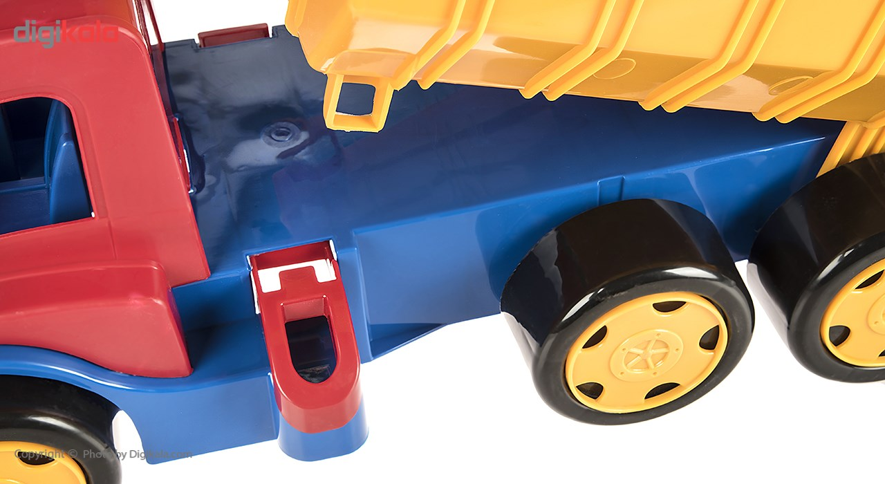 img ماشين بازي زرين تويز مدل کاميون سوپر معدن F2 Zarrin Toys Mine Truck Super F2 Car Toys