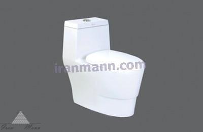 تصویر توالت فرنگی ویکتوریا چینی کرد Victoria Toilet