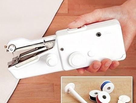 تصویر چرخ خیاطی دستی کوچک اتوماتیک