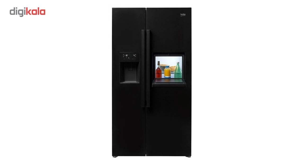 img یخچال فریزر ساید بای ساید بکو مدل GN162420X Beko Side by Side Freezer Refrigerator Model GN162420X