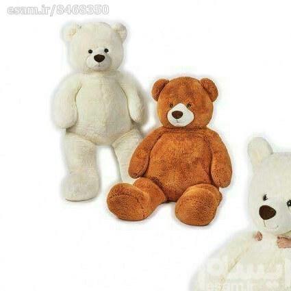 عروسک خرس نشسته خیلی بزرگ | کیفیت اروپایی/ 135سانتیمتر