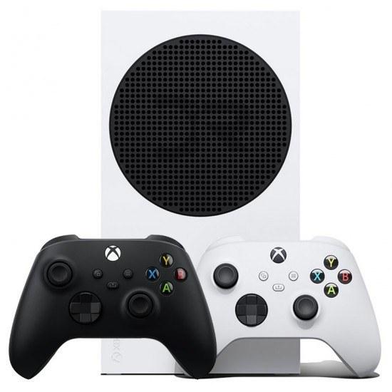 تصویر ایکس باکس سری اس باندل دو دسته کپی خور - Xbox Series S Bundle Two Controller Black With Games