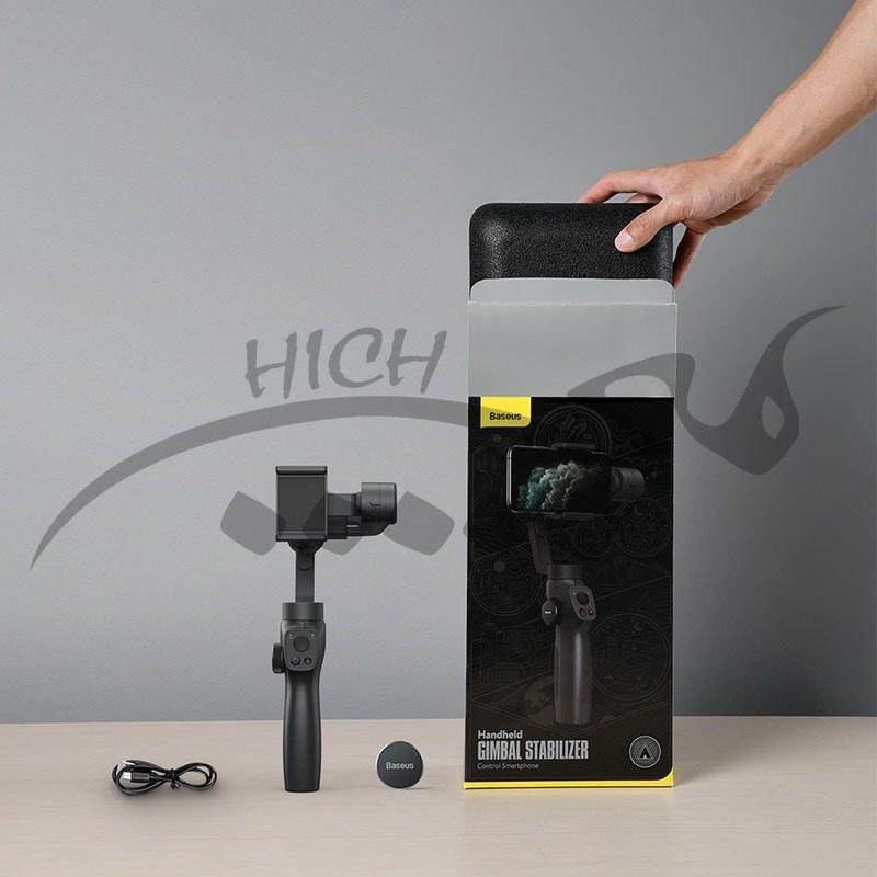 تصویر گیمبال موبایل بیسوس Baseus Control SUYT-0G Smartphone Handheld Gimbal Stabilizer-Gray