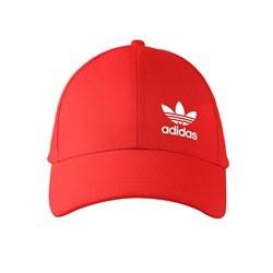 تصویر کلاه کتان قرمز آدیداس