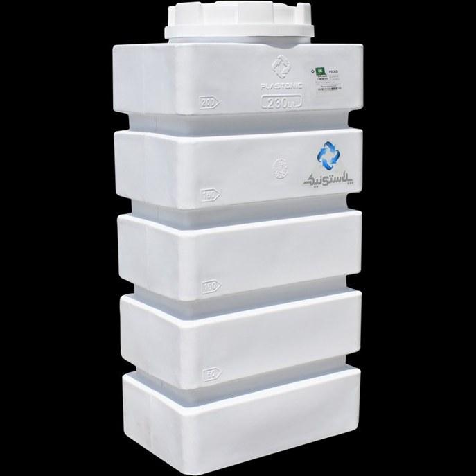 تصویر مخزن آب مکعبی plastonic پلاستونیک (230 و 800 لیتری)