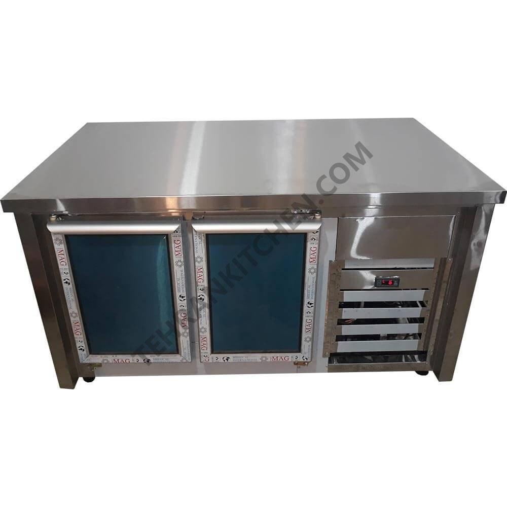 میز کار زیر یخچال دار  طول 150 |