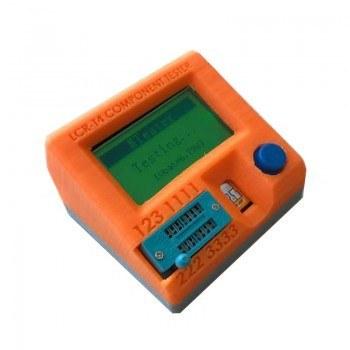 تصویر جعبه پلاستیکی تستر قطعات الکترونیکی LCR-T4