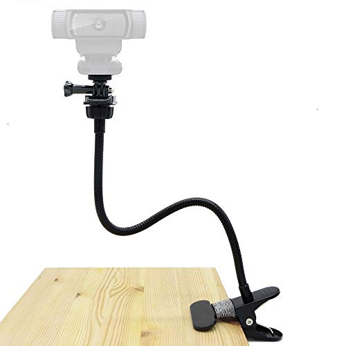 تصویر Webcam Clamp Mount, Flexible Holder Stand for Logitech Webcam Brio 4K, C925e,C922x,C922,C930e,C930,C920,C615 - Acetaken