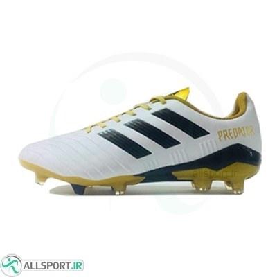 کفش فوتبال آدیداس پردیتور طرح اصلی سفید Adidas Predator 2018