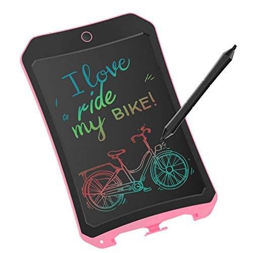 main images تبلت نوشتن LCD رنگارنگ XIYITOY برای اسباب بازی های کودکان و نوجوانان 3 تا 12 ساله ، تابلوی طراحی و نوشتن 8.5 اینچ با دکمه قفل کردن Erase برای بزرگسالان برای مدرسه و دفتر (Pink02) XIYITOY Colorful LCD Writing Tablet for Kids Toys for 3-12 Years Old Girls, 8.5 inch Drawing and Writing Board with Lock Erase Button for Adults for School and Office(Pink02)