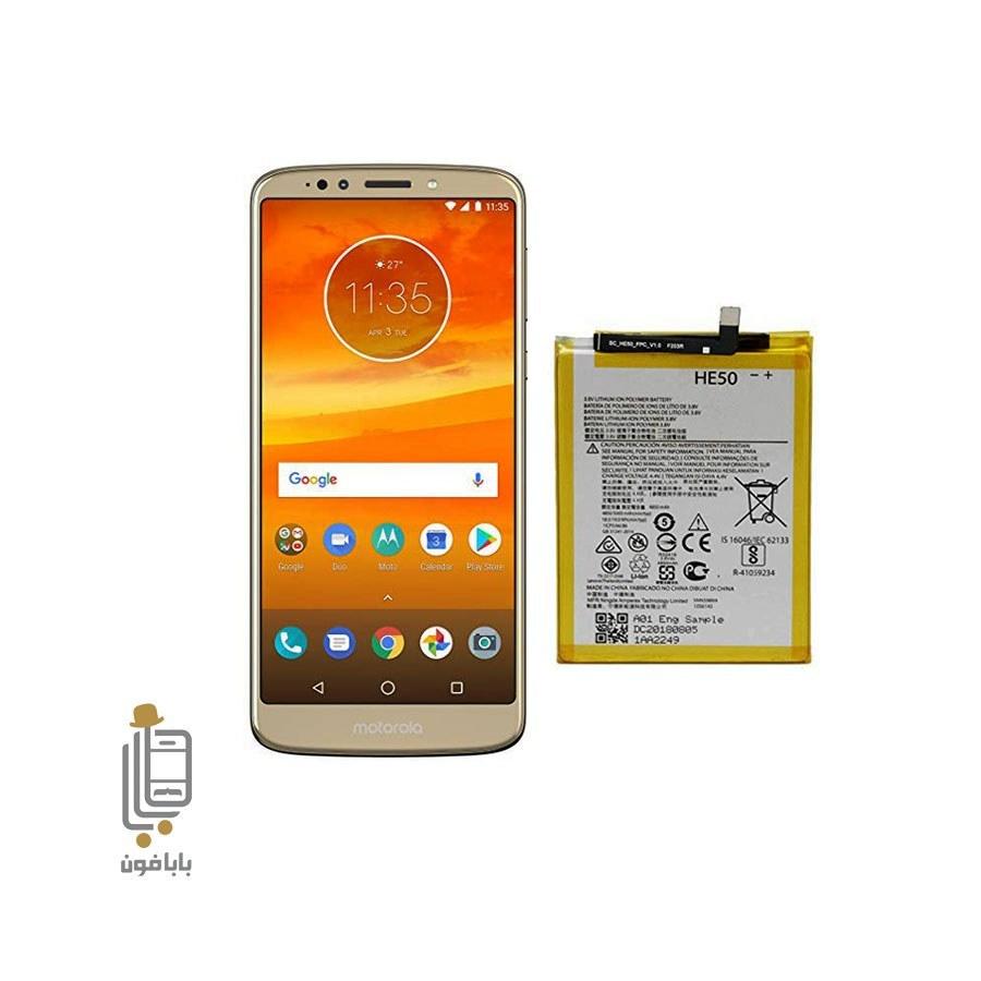 main images باتری اصلی گوشی موتورولا Motorola Moto E5 Plus - HE50
