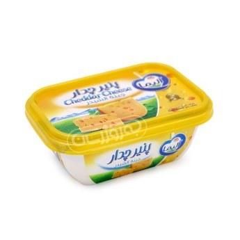 عکس پنیر چدار ۲۵۰ گرمی آلیما  پنیر-چدار-250-گرمی-الیما