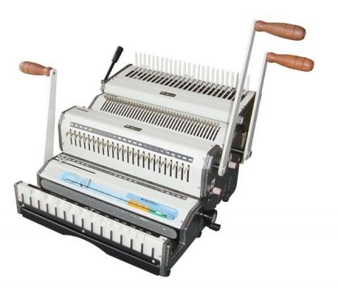 دستگاه سیمی کن پلاستیک زن و  فلزی دوبل WireMac-3:1+Combo | WireMac-3:1+Combo binding Machine