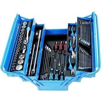 مجموعه 57 عددي جعبه ابزار ليکوتا مدل AHB-533K01 | Licota AHB-533K01 57Pcs Tools Box