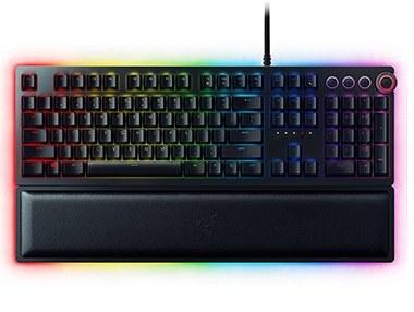 تصویر کیبورد مخصوص بازی ریزر مدل HUNTSMAN ELITE RAZER Keyboard HUNTSMAN ELITE Opto-Mechanical