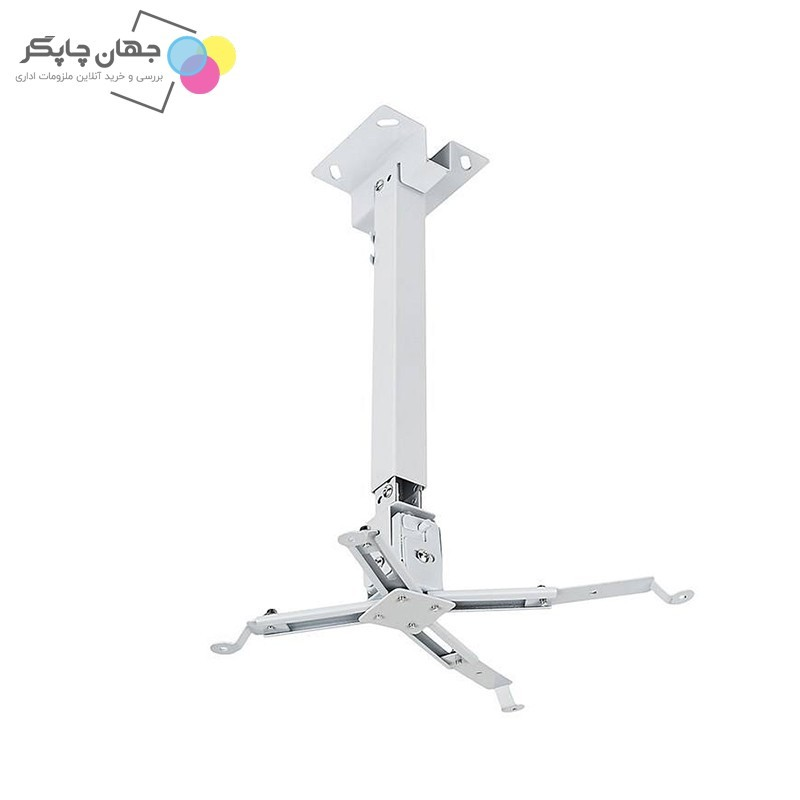 تصویر پایه سقفی پروژکتور سایز 43cm تا 65cm اسکوپ Ceiling base of projector size 43cm to 65cm scope