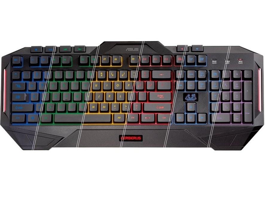 کیبورد گیمینگ ایسوس مدل Cerberus Keyboard MKII | ASUS Cerberus Keyboard MKII Gaming Keyboard