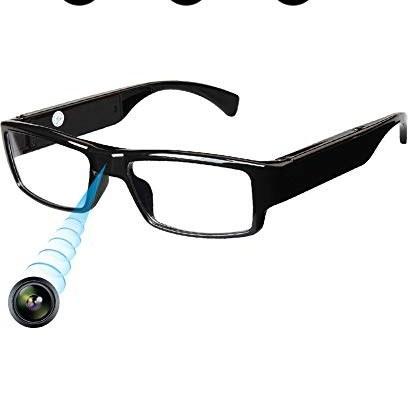 main images [نسخه به روز شده] عینک دوربین مخفی FHD ، عینک دوربین جاسوسی فوق العاده کوچک ، دوربین ضبط کننده فیلم ، عکس فوری ، کابل شارژر USB