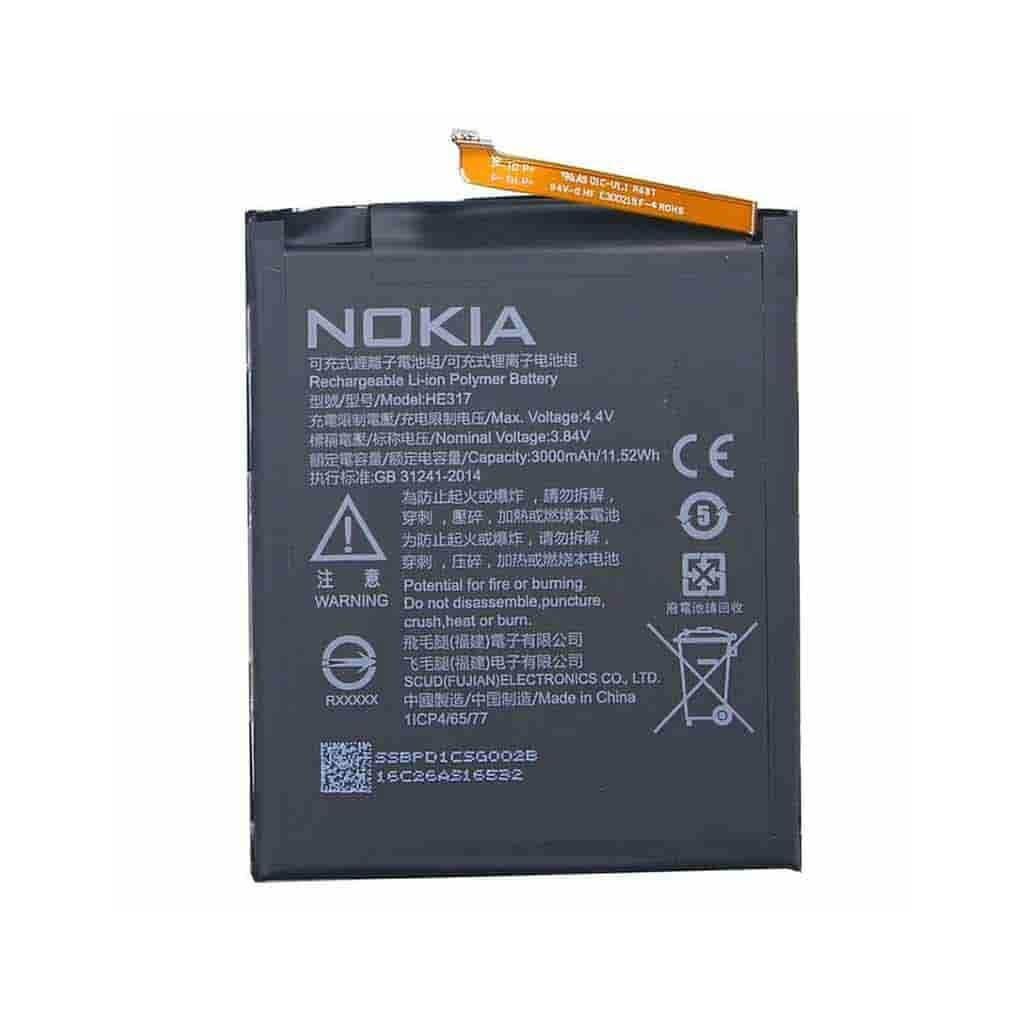 تصویر باتری اصلی گوشی نوکیا Nokia 6 Battery Nokia 6 - HE316 / HE317
