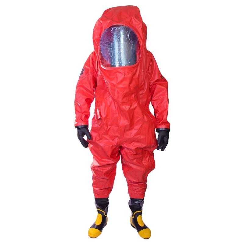 تصویر لباس ضد گاز MKF 06 MEIKANG قرمز