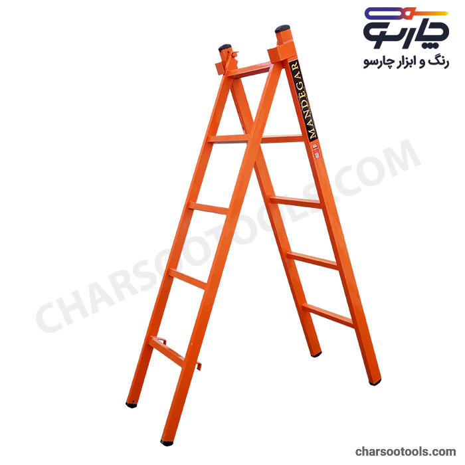 تصویر نردبان کشویی آهنی 10پله