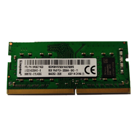 تصویر رم لپ تاپ کینگستون مدل Kingston DDR4 3200 MHz ظرفیت 8 گیگابایت ا Kingston DDR4 3200 MHz 8GB computer Ram Kingston DDR4 3200 MHz 8GB computer Ram