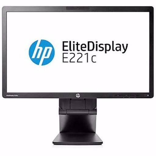 تصویر مانیتور اچ پی فول اچ دی مدل HP EliteDisplay E221 Full HD