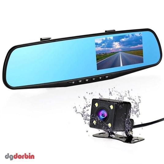 آینه مانیتور دار با دوربین جلو و دنده عقب خودرو