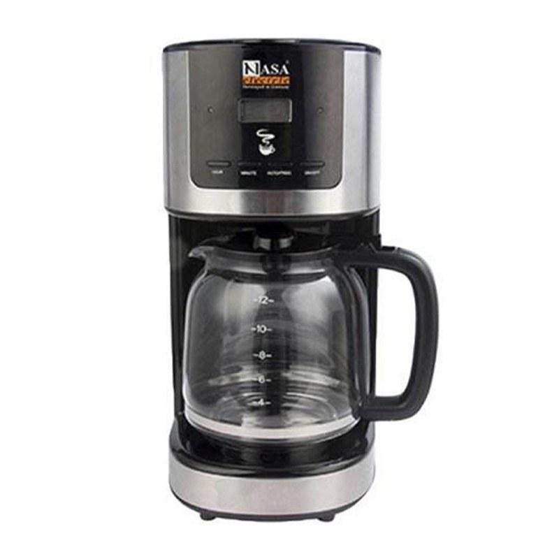 تصویر قهوه ساز NS 517 ناساالکتریک ظرفیت 1.5 لیتر Nasa Electric NS-517 Coffee Maker