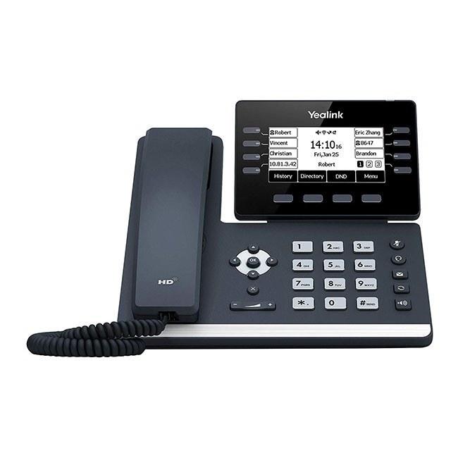 تصویر تلفن تحت شبکه رومیزی یالینک مدل SIP-T53