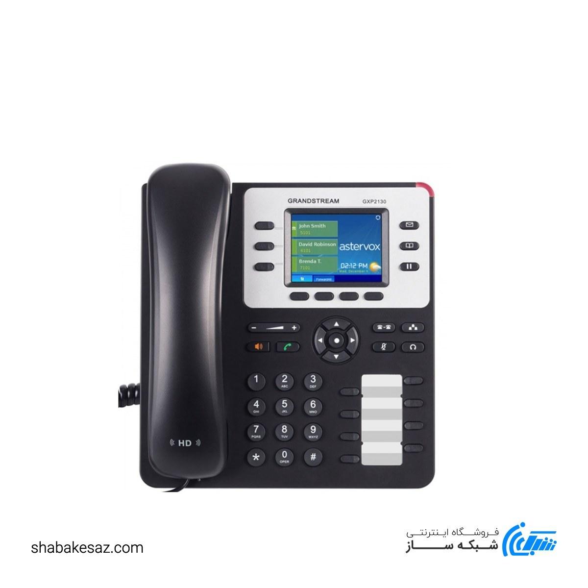 تصویر گوشی تلفن GXP2130 v2 گرنداستریم Grandstream GXP2130 v2