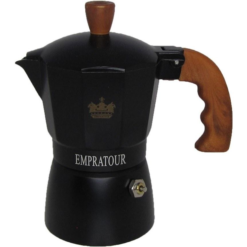 تصویر قهوه جوش و اسپرسو ساز دستی امپراتور مدل 2کاپ
