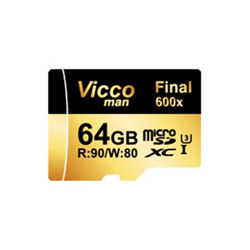 تصویر Vicco Man MicroSDXC 64GB Final 600X Plus U3 Vicco Man MicroSDXC 64GB Final 600X Plus U3