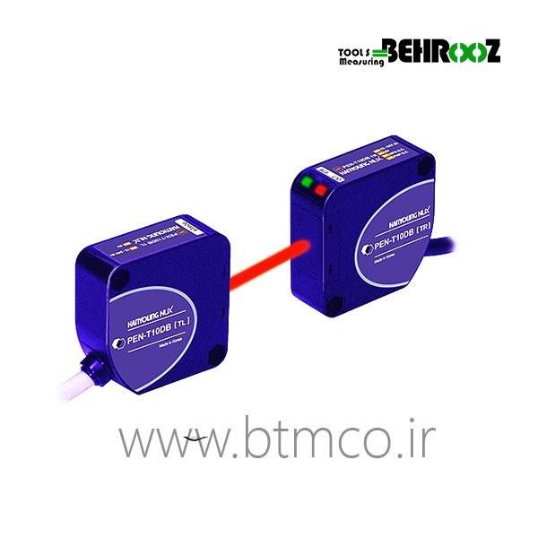 تصویر سنسور نوری / چشم الکترونیک مکعبی ۱۰ متری دوطرفه خروجی رله ولتاژ مولتی هانیانگ مدل HANYOUNG PEN-T10A ا HANYOUNG PEN-T10A HANYOUNG PEN-T10A